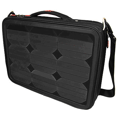Solar Laptop Charger Briefcase