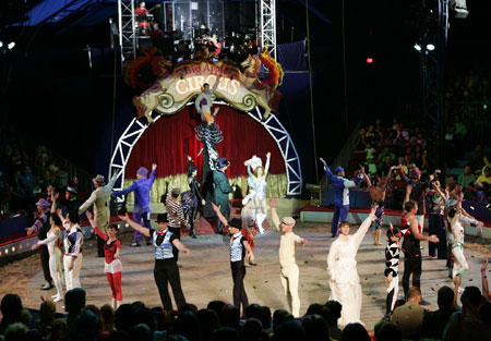 Summer in Abu Dhabi - Roll Up, Roll Up, The Circus