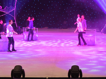 State-Of-The-Art Ice Rink Takes Shape at ADNEC for 'Fantasy On Ice' World Premier