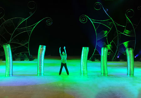 Fantasy on Ice as part of the six-week Summer in Abu Dhabi