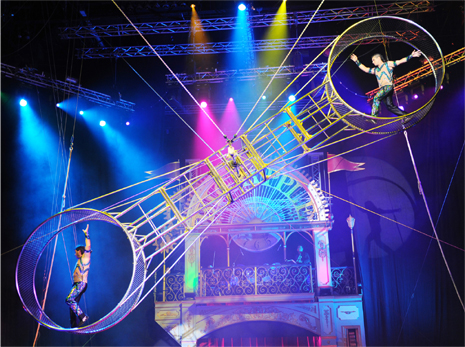Gravity-Defying Acrobats and Side-Splitting Comedy Clowns Take ADNEC's Centre Stage
