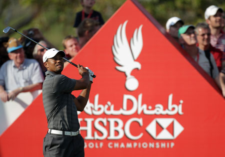 Tiger Leads on Day 3