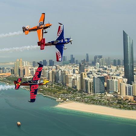 Red Bull Air Race World Championship in Abu Dhabi