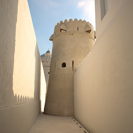 Watch tower at Qasr Al Hosn