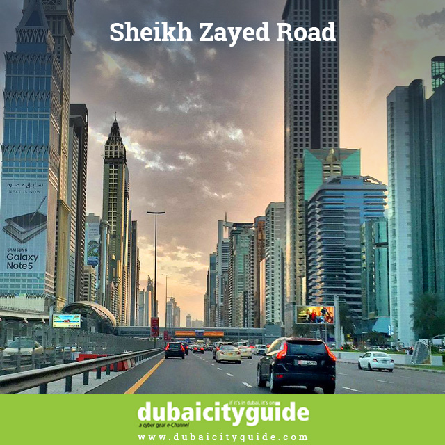 Sheikh Zayed Road never sleep