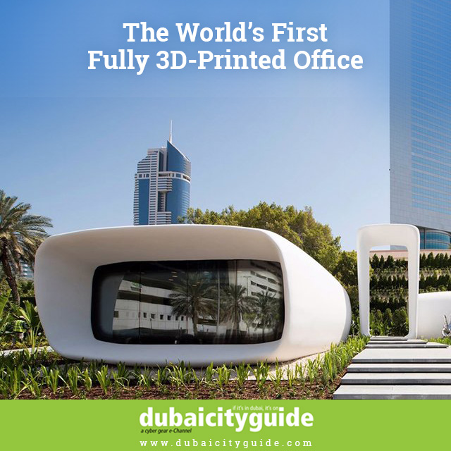 The world's first ever 3D printed office.