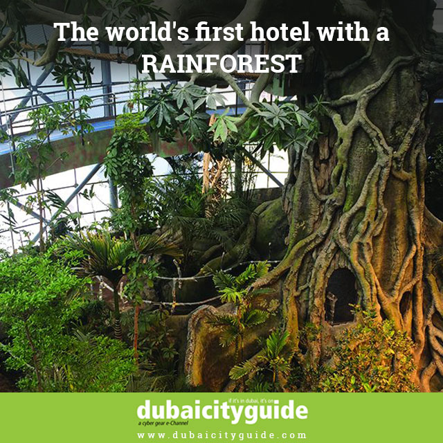 The World's First Hotel with Rain-Forest