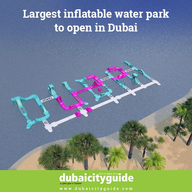 Largest Inflatable Water Park to open in Dubai