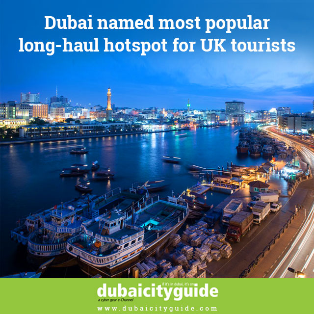 Most-popular long haul hotspot for UK tourists