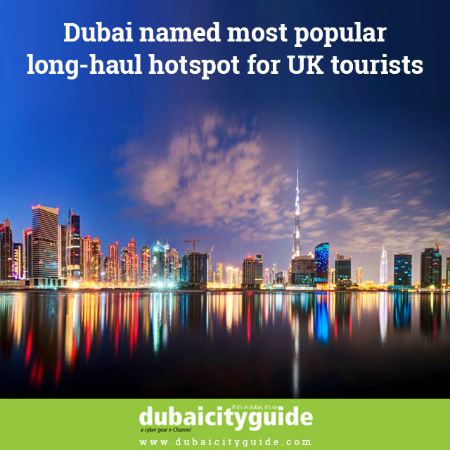 Most-popular long haul hot spot for UK tourists 2