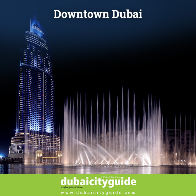 Downtown Dubai 3