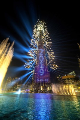 NYE Celebrations in Dubai